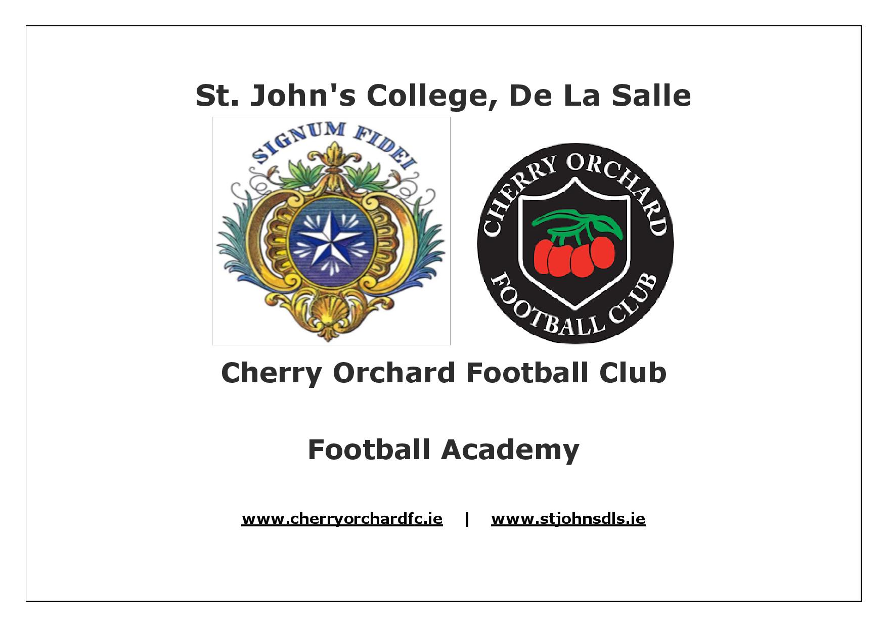 St-Johns-College-De-La-Salle-Cherry-Orchard-FC-Partnership-Sign-WEBSITE